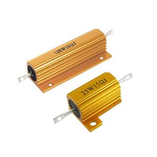 Golden Aluminum Housed resistor for led (0)