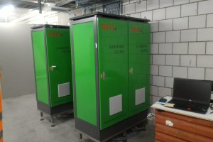 SIKES harmonic filters for central air conditioning in Switzerland.