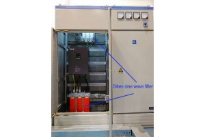 Sikes Electric's goods for Peking Railway with safety version of Sine Wave Filters