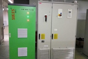 Sine Wave filter Application case in  Petrochemical Company.